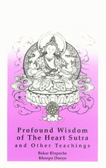 Profound Wisdom of the Heart Sutra